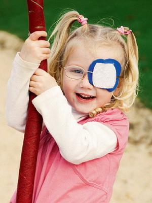 Нарисованные очки для зрения