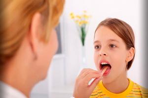 Лакунарная ангина у детей: симптомы и лечение