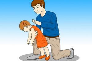 Инородные тела в дыхательных путях у ребенка: признаки и удаление