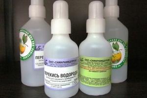 Лечение и очищение организма с помощью перекиси водорода