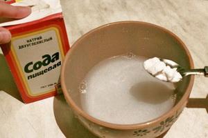 Применение соды при лечении рака