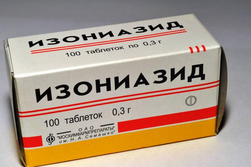 Характеристика противотуберкулезных препаратов